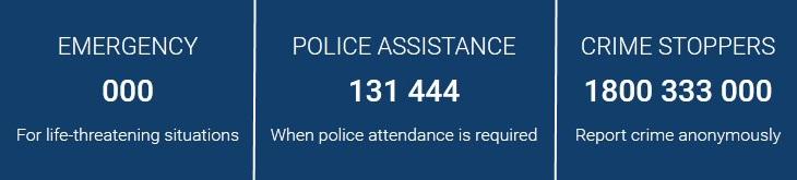 WA Police numbers