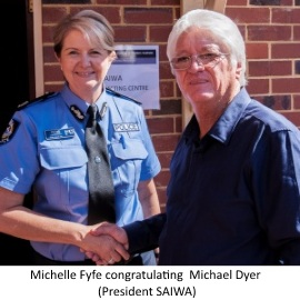 michelle-fyfe-congratulating-michael-dyer